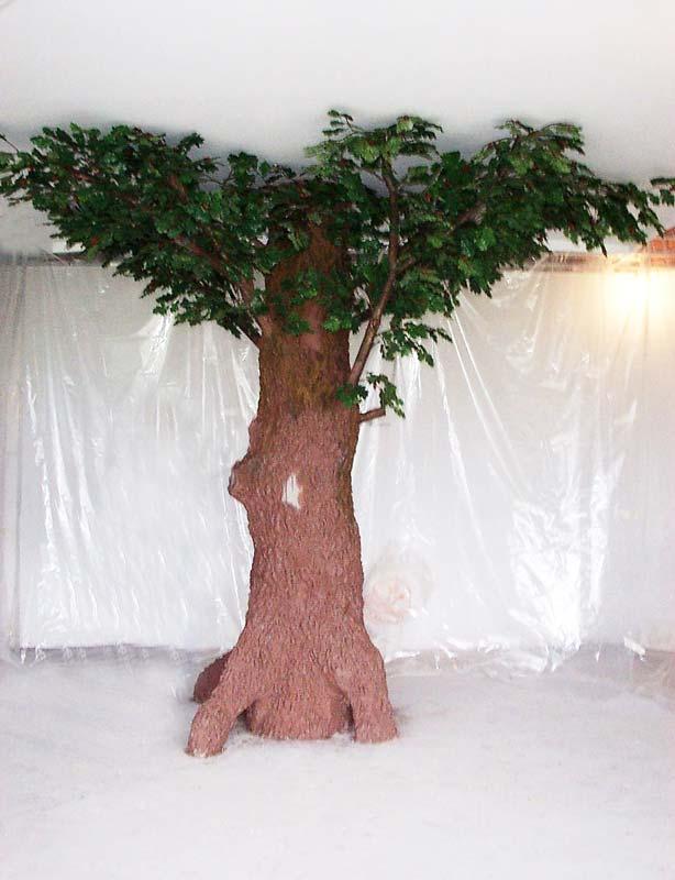Большое искусственное дерево своими руками 686