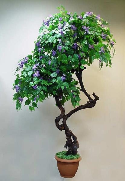 Искусственные деревья цветы
